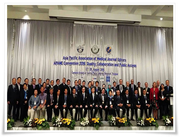 Asia Pacific Association of Medical Journal Editors 2016 (APAME2016)